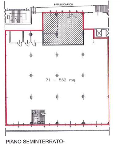 Capannone in Affitto a Cinisello Balsamo  rif. 3382