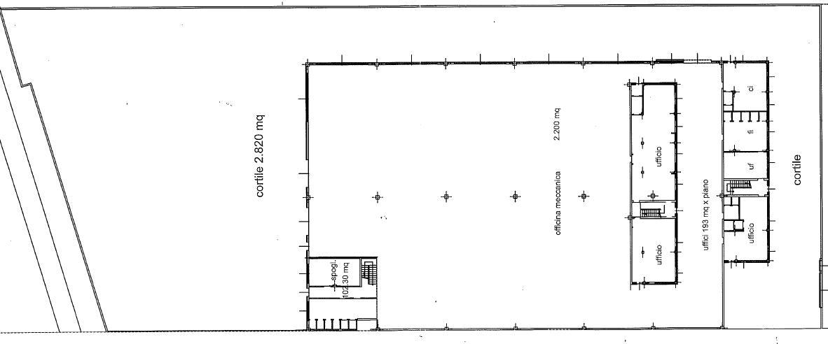 Capannone in Affitto a Brugherio  rif. 6598