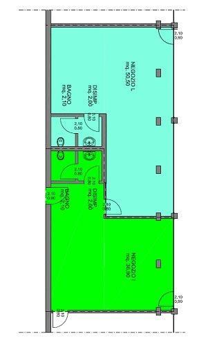 Immobile Commerciale in Affitto a Capriate San Gervasio  rif. 3418