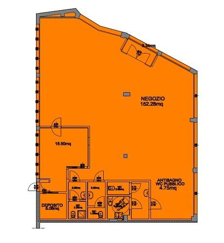 Immobile Commerciale in Affitto a Capriate San Gervasio  rif. 3419