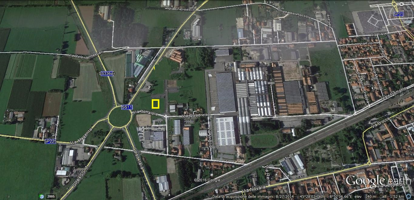 Terreno Industriale in Vendita a Magenta  rif. 5381