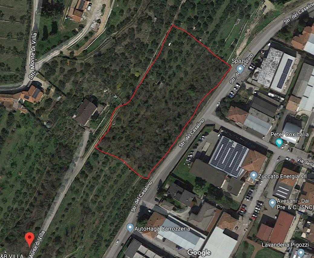 Terreno Agricolo in vendita a Verona, 9999 locali, zona Zona: 5 . Quinzano - Pindemonte - Ponte Crencano - Valdonega - Avesa , prezzo € 60.000   CambioCasa.it