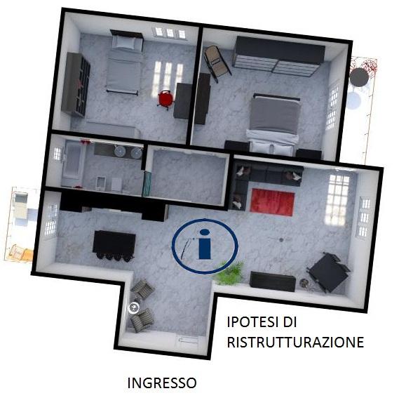 Appartamento in vendita a Melito di Napoli, 3 locali, prezzo € 105.000   CambioCasa.it
