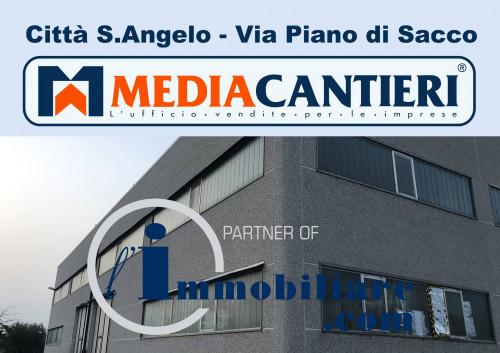 Vai alla scheda: Capannone Industriale Vendita - Città Sant'Angelo (PE) - Codice -362-47