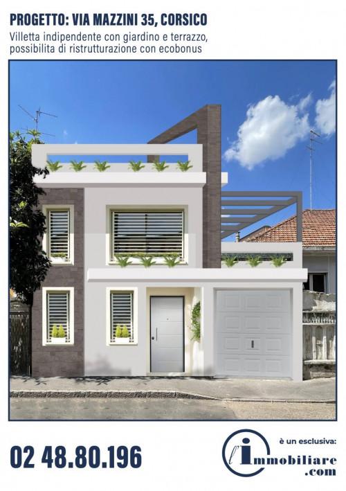 Vai alla scheda: Villa singola Vendita - Corsico (MI) - Codice -109-CV35