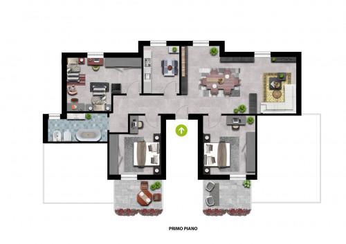 Appartamento in Vendita a Ururi