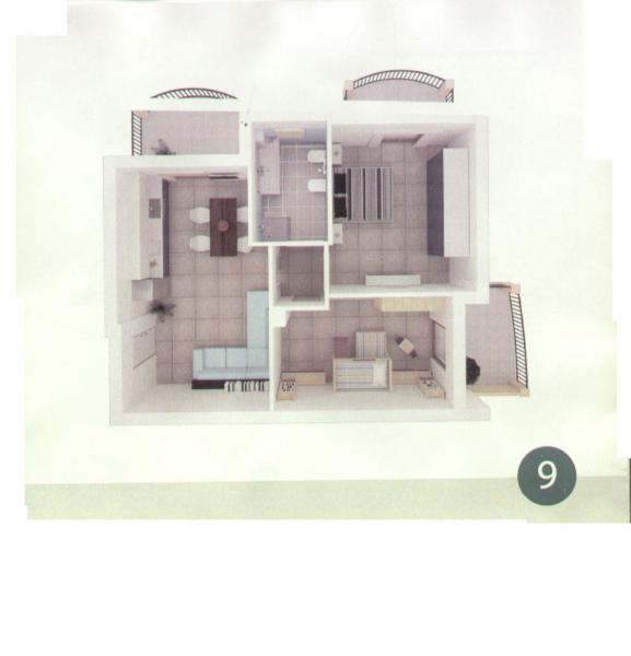 vendita appartamento colonnella   125000 euro  3 locali  72 mq