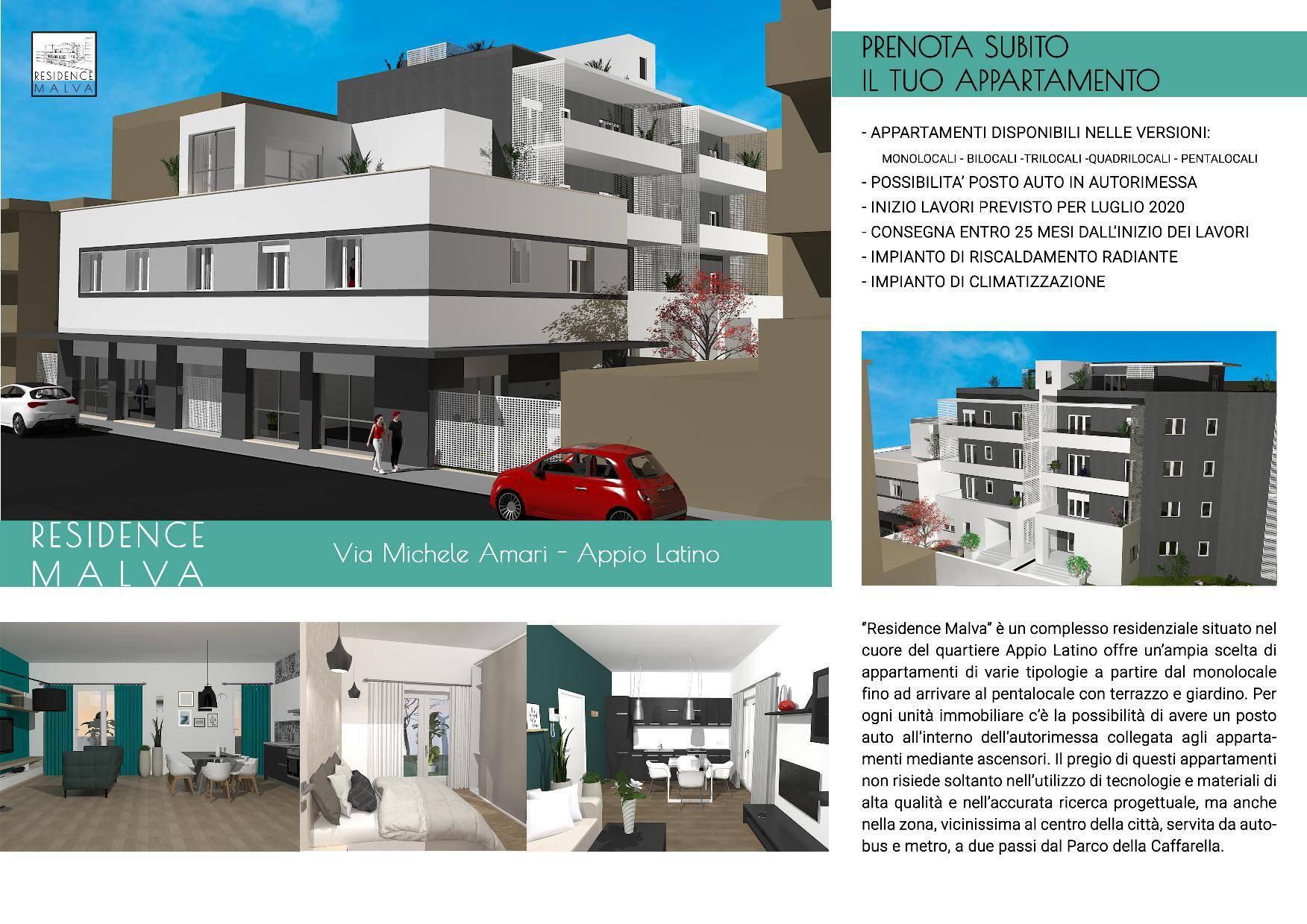1118417374 Appartamento in vendita Roma Appio Latino Nuove Costruzioni