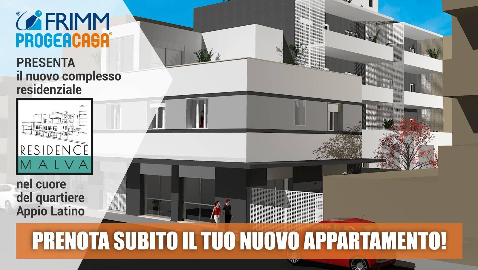 1118417062 Quadrilocale in Via Michele Amari, Roma, Zona Appio Latino Nuove Costruzioni