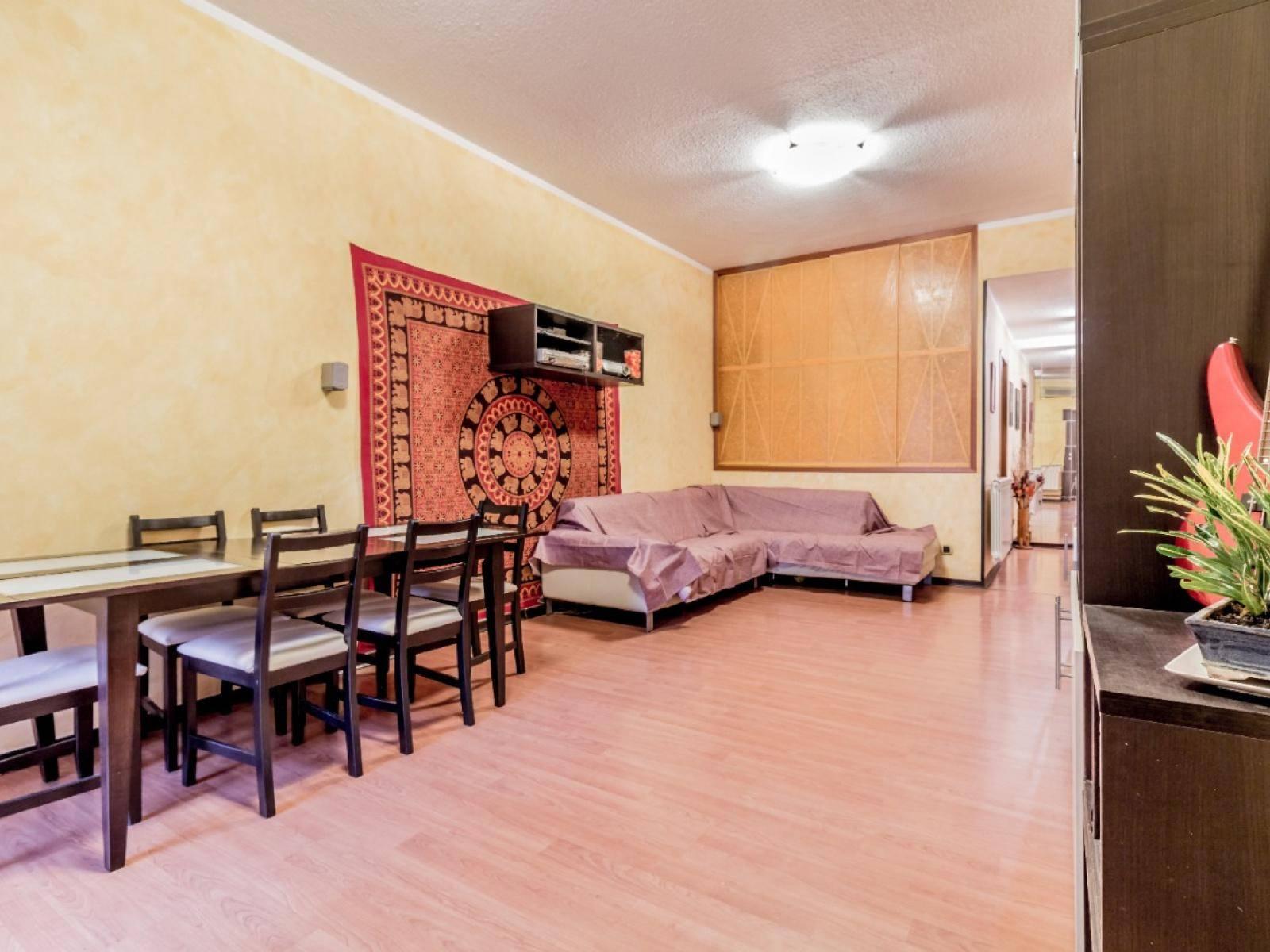 1118417670 Trilocale in Via Federigo Verdinois, Roma, Zona Colli Aniene