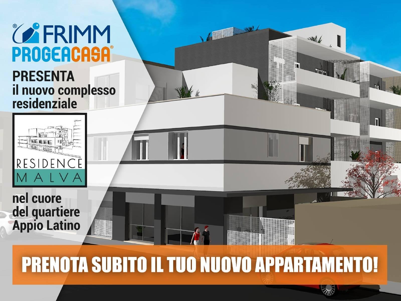1118420020 Quadrilocale in Via Michele Amari, Roma, Zona Appio Latino Nuove Costruzioni