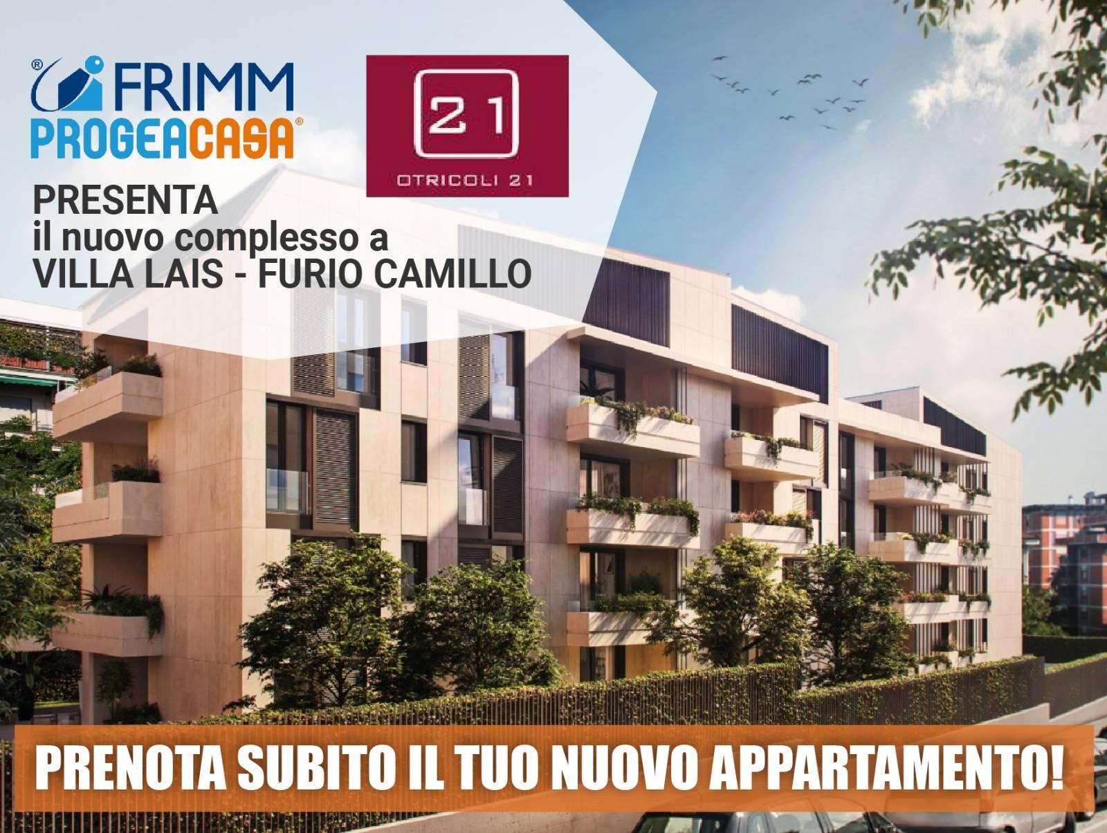 1118420165 Trilocale in Via Otricoli, Roma, Zona Tuscolana, Villa Lais