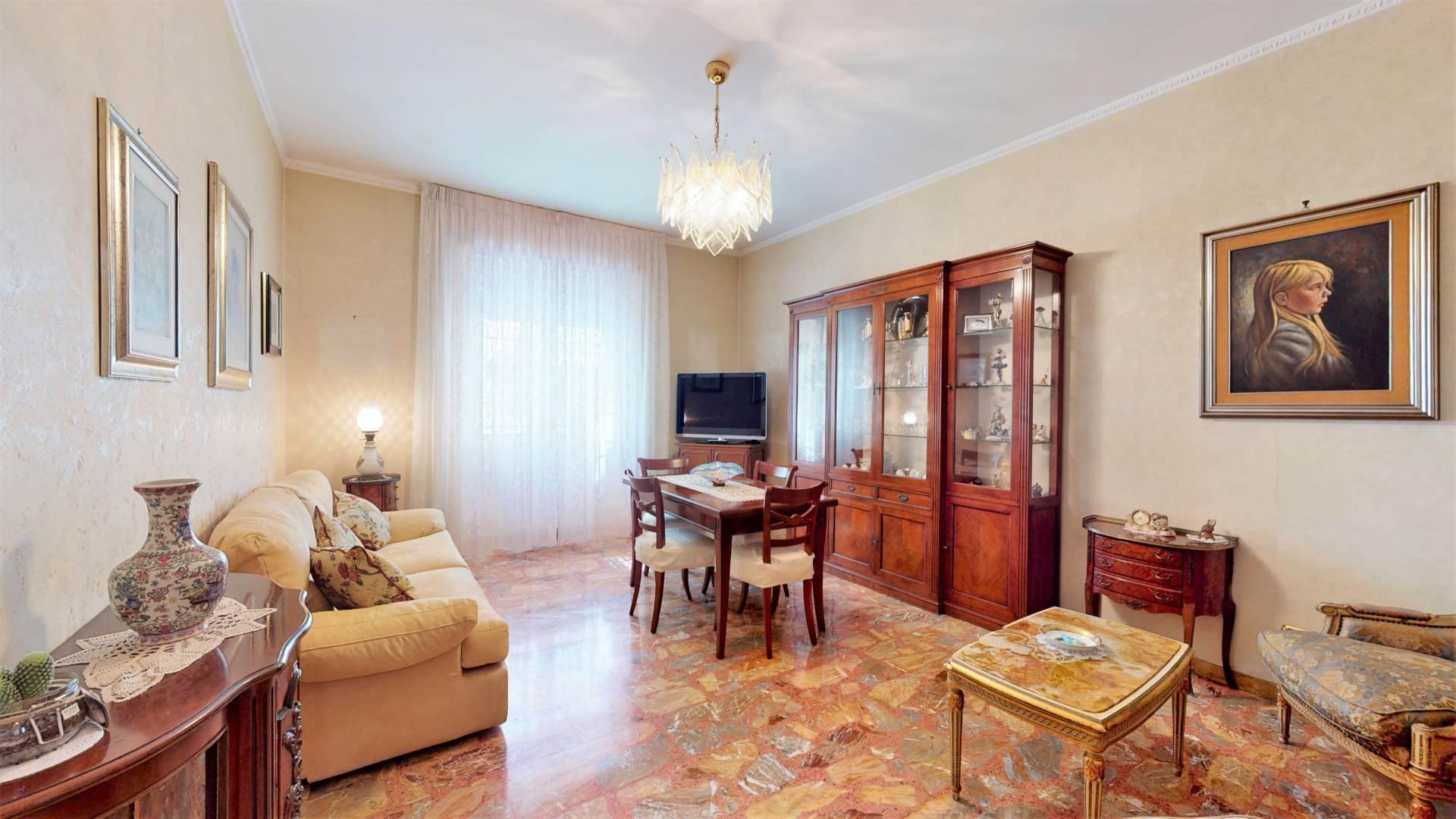 1118420319 Trilocale in Via Bartolomeo Colleoni, Roma, Zona Pigneto