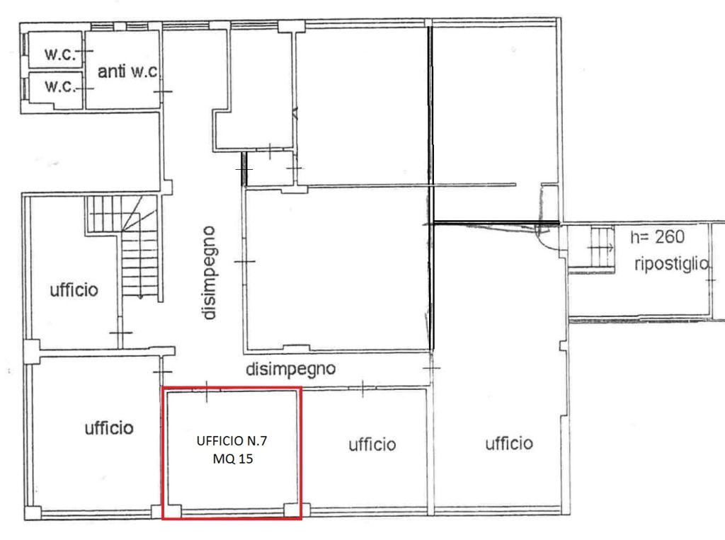 Ufficio / Studio in affitto a Ponsacco, 9999 locali, zona Località: LeMelorie, prezzo € 300 | CambioCasa.it
