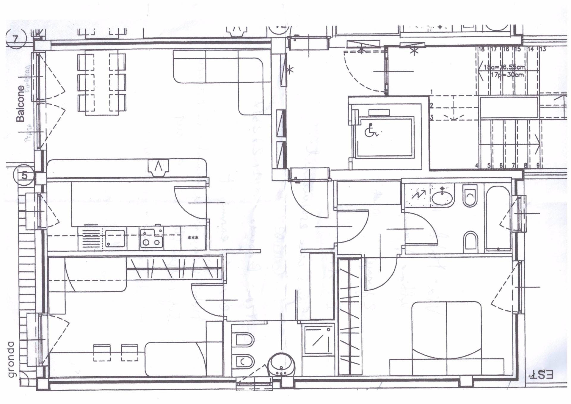 Appartamento in affitto a Bolzano, 4 locali, zona Zona: Residenziale, prezzo € 1.100 | Cambio Casa.it