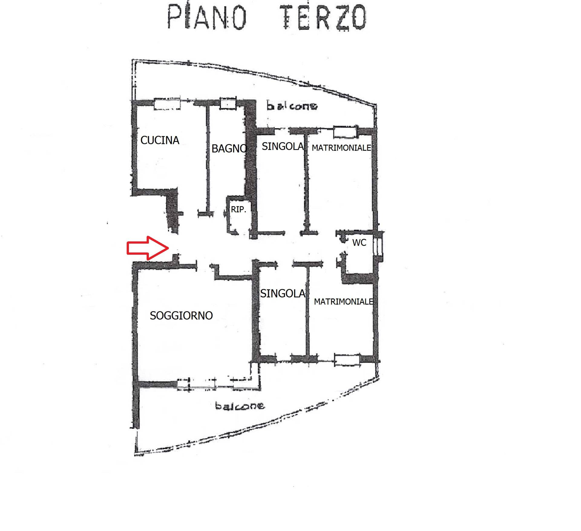 Appartamento in affitto a Bolzano, 6 locali, zona denziale, prezzo € 1.600 | PortaleAgenzieImmobiliari.it